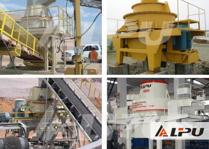 Mine Crushing Equipment VCⅡ Series Impact Crusher / Sand Making Machine for Granite Limestone