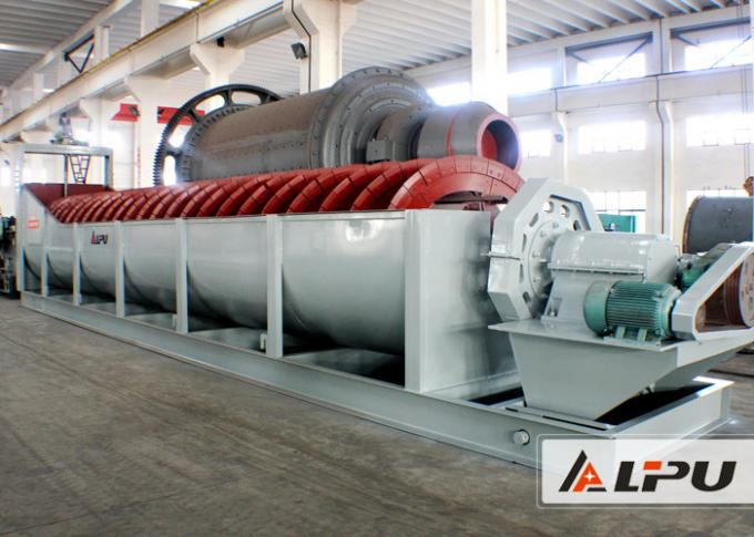 20 - 50t/h Capacity Sand Washing Machine / Spiral Sand Washer
