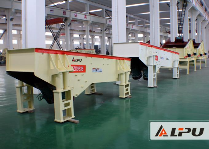 Low Noise Grizzly Vibrating Feeder Machine For Marble / Vibration Conveyor
