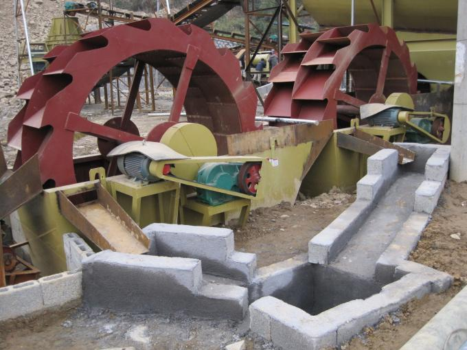 High Efficient Bucket Type Quartz And Silica Sand Washing Machine In Quarry