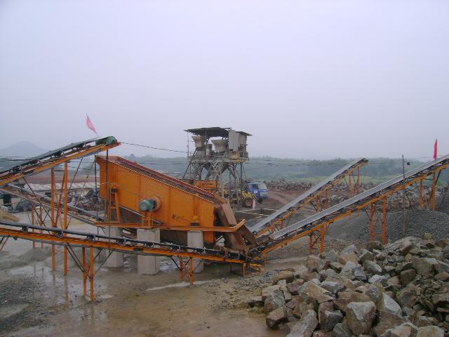 Secondary Stone Crushing Plant For Sand Making Industry , Stone Crusher Machinery