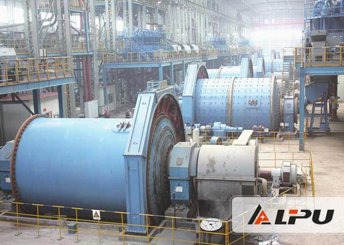 Industrial Aluminum Ceramic Ball Mill Machine 0.65-2 T/H Capacity 1.5t Ball Load