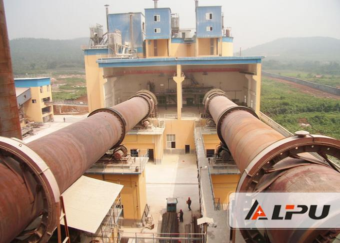 High Capacity Lime / Limestone Rotary Kiln Equipment In Cement Production Line