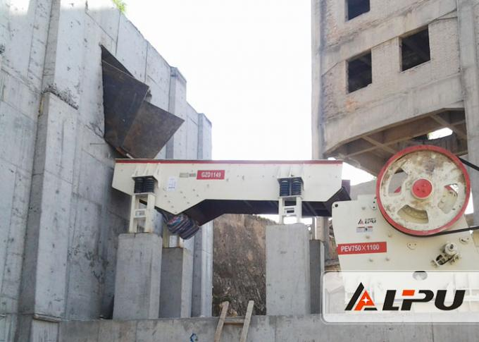 GZD Series Gravel Vibrating Feeder Used in Metallurgy Coal Mine Beneficiation