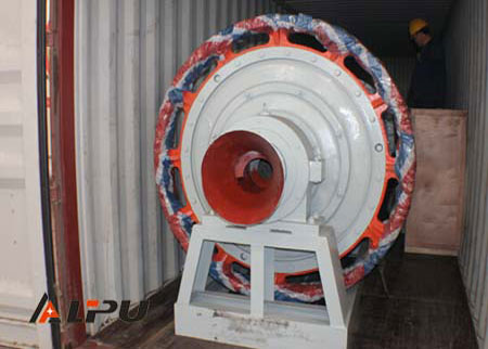 Fly Ash Mining Ball Mill With Effective Volume 7.1m³ 110KW ISO CE IQNet