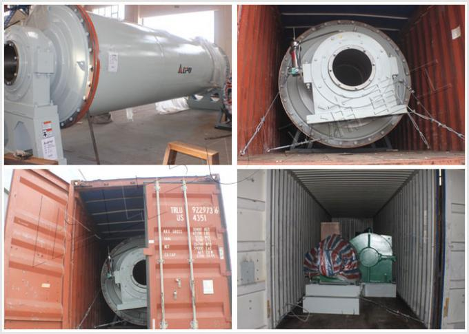 Large Horizontal Rotary Cement Ball Mill In Cement Making Industry