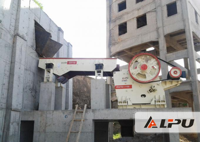 GZD Series Blocky , Granular Material Vibrating Feeder In Stone Crushing Plant