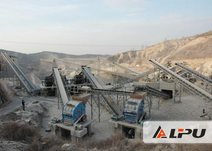 Iron Ore Or Aggregate Conveyor Systems Continuous Production Link Between Equipment