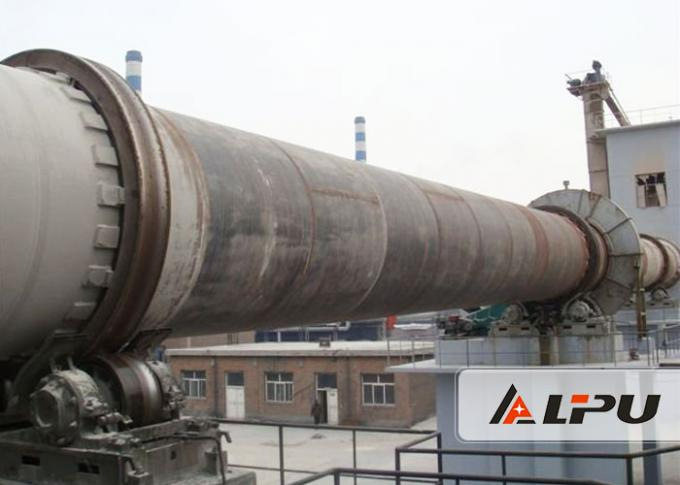Aluminum Hydroxide And Chrome Ore Rotary Kiln High Perfomace 37kw