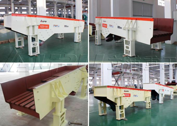 Smooth Vibration Grizzly Vibrating Feeder Machine in Stone Crushing Plant GZD 1149