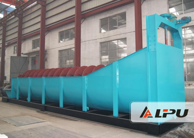 Gold Mining Spiral Classifier for Gravity Concentration And Mineral Washing , Ore Dressing Plant