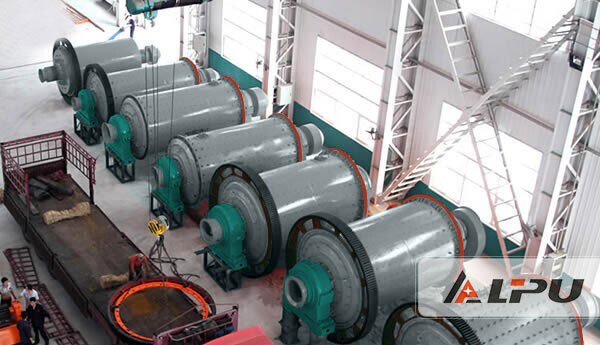 Continuous Operation Cement Ball Mill Equipment , Ball Grinding Mill Machine
