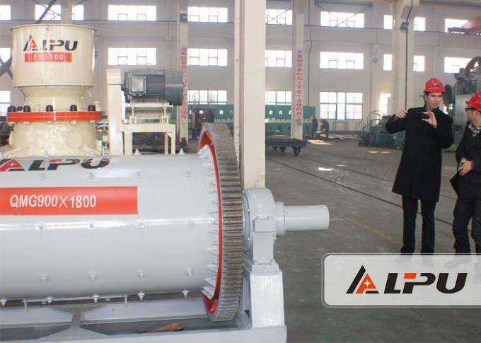 Wet Or Dry Type Gold Mining Ball Milling Machine for Ore Cement Gypsum
