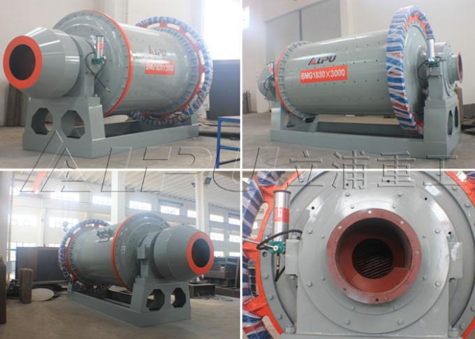 Model 2400×4500 Mining Ball Mill in Cement Plant , Mineral Ore Dressing Plant