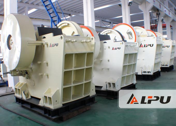 24T Mine Crushing Equipment Large Crushing Ratio Jaw Crusher For Hard Stone