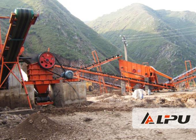 Complete Quarry Stone Crushing Machine Production Line Capacity 200 T / H