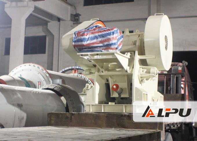 Big Capacity Smooth Vibrating Feeder For Sandstone Production Line , High Speed