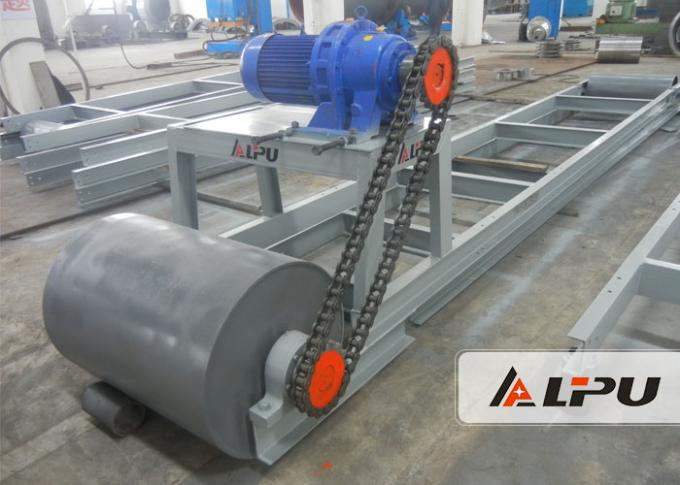 290-480t/H Capacity Mining Conveyor Systems With 1200mm Belt Width , Color Customized
