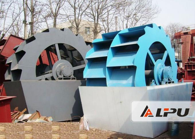 Large Capacity Industrial Sand Plant Equipment For Construction , High Power