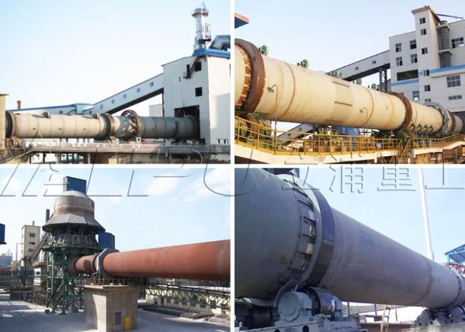 Activated Carbon Rotating Calcination Kiln in Cement Plant , Cement Kiln