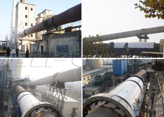 Capacity 180 t/d Rotary Kiln Production Line Calcination for Limestone Dolomite Chalk