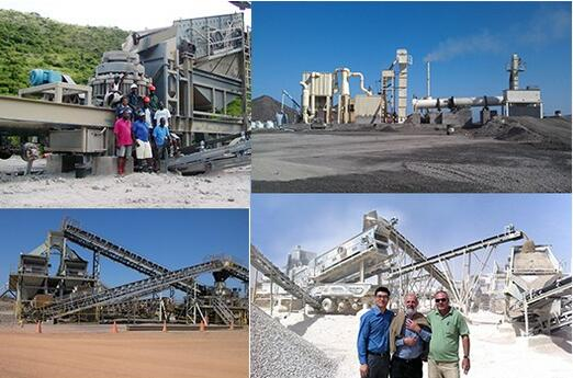 30-450 TPH Granite Stone Crushing Plant Production Line for Metallurgic Slag