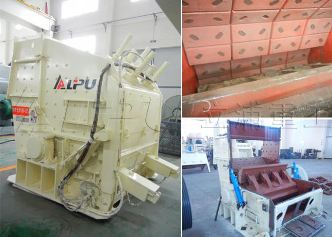 River Stone Crusher Machine , Cobble / Limestone Aggregate Crushing Plant 450t/h