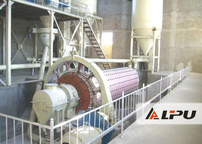 Professional Gold Industrial Ball Mill For Wet / Dry Grinding 110kw