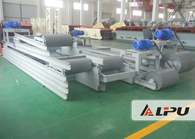 Horizontal / Inclined Belt Mining Conveyor Systems For Metallurgy Coal