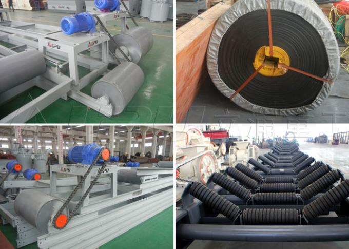 Continuous Width 1000mm Mining Coal Conveyor Belt Systems 290-480t/H