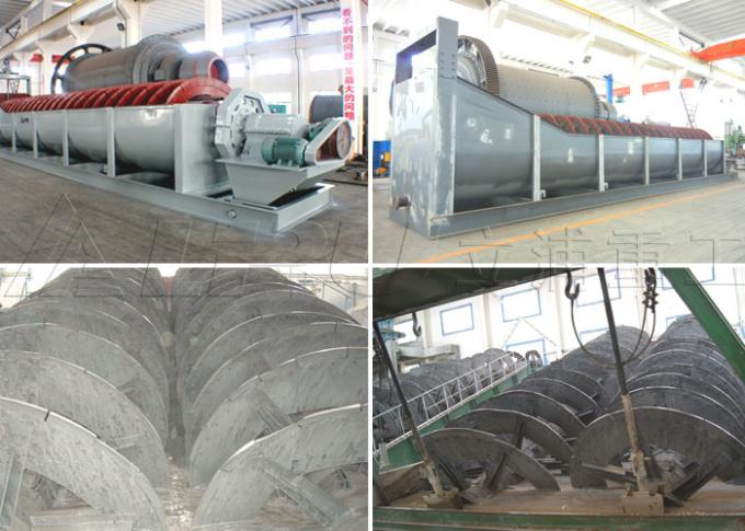 Spiral / Screw Sand Washing Machine for Mineral Ore Gravel Crushed Rock
