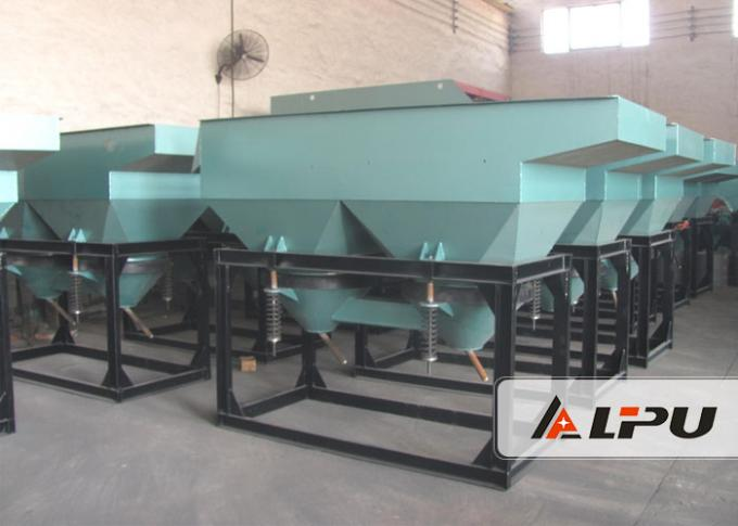2.2kw Ore Dressing Plant Gold Jigging Machine ,  Capacity 1-60 T/H