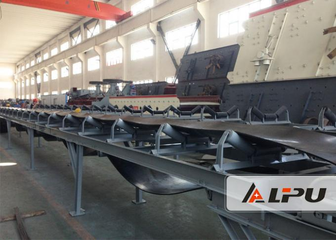 Mineral Ore Or Limestone Automatic Belt Conveyor System For Mining Industry