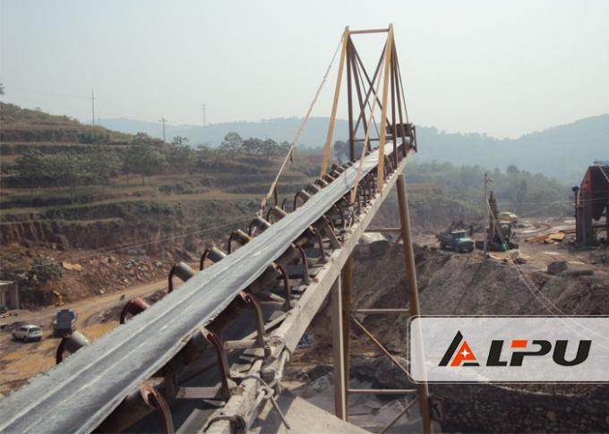 Material Handling Belt Conveyor / Mining Conveyor Systems Convenient Operation