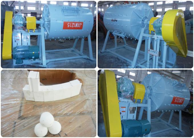 Grinding Mills Ceramic Ball Mill Effective Volume 1.58m³ Good Corrosion Resistance