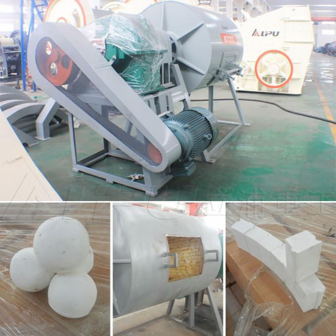 4 Kw High Speed Ball Mill / Batch Ball Mill In Chemical Industry 2.5 T