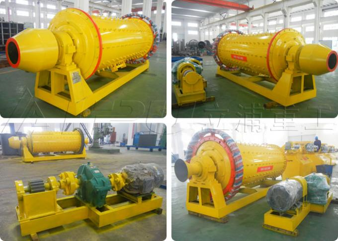 1830×7000 Cement Ball Mill in Cement Production Plant Discharging Size 0.074-0.4 mm