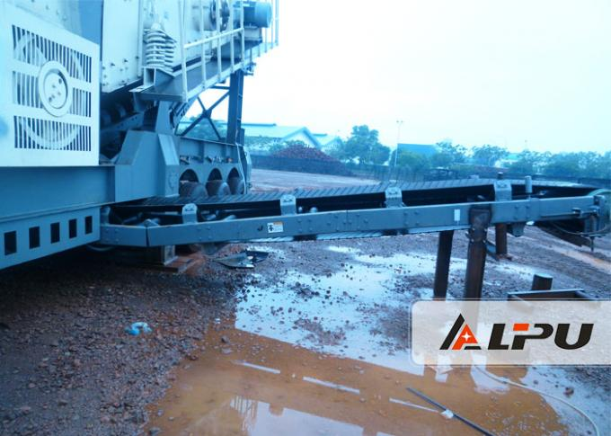 Good Mobility Portable Stone Crusher Machine Mobile Jaw Crusher Plant