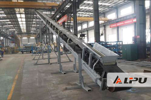 Stable Running Conveyor Belt Systems Mining for Limestone Calcite Dolomite Barite