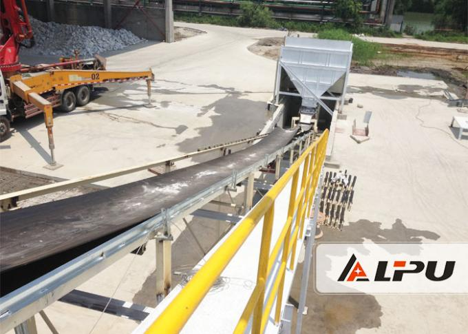 Horizontal or Inclined Mining Conveyor Systems Belt Conveyor in Coal Mining Metallurgy