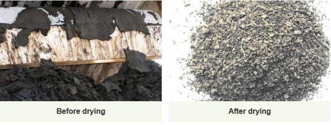 chemical sludge drying