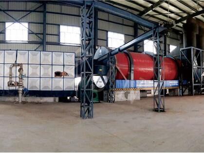 chemical sludge rotary dryer