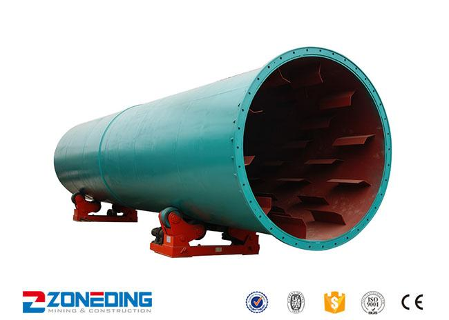 HG2.2×15 Industrial Dryer Machine Hot Air Rotary Dryer For Cement