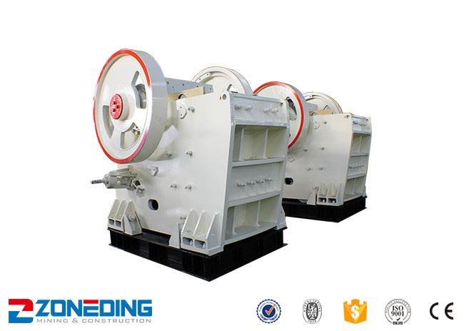 Marble 250x1200 Secondary Jaw Crusher With Large Capacity 75-180mm Outlet Size