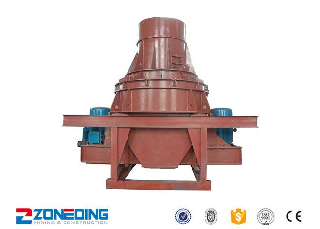 Large Capacity Mineral Sand Making Equipment With Low Consumption Low Noise