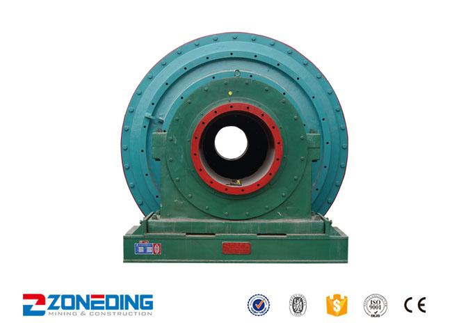 Small Stone Ball Grinding Mill Machine For Cement / Overflow Ball Mill Equipment
