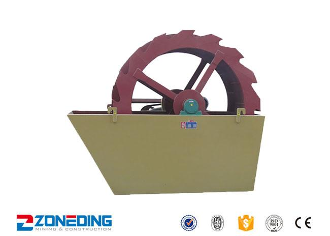 11kw Ore Washing Plant / Mobile Silica Sand Washing Plant 40-140t/H Capacity