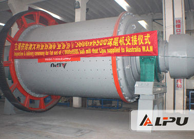China Fly Ash Mining Ball Mill With Effective Volume 7.1m³ 110KW ISO CE IQNet supplier