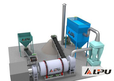 China Granular Material Flyash Industrial Drying Machinery , Easy To Install supplier