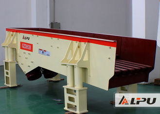 China Low Noise Grizzly Vibrating Feeder Machine For Marble / Vibration Conveyor supplier